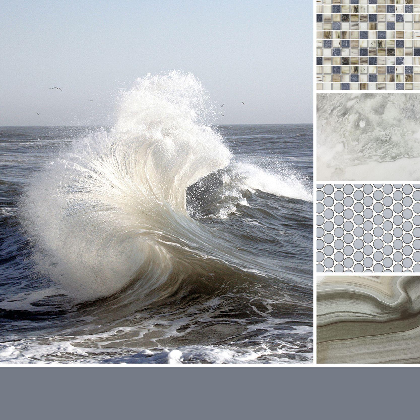 Badezimmer ideen erdtöne a cool blend of blue grey and sandy tan to inspire your next