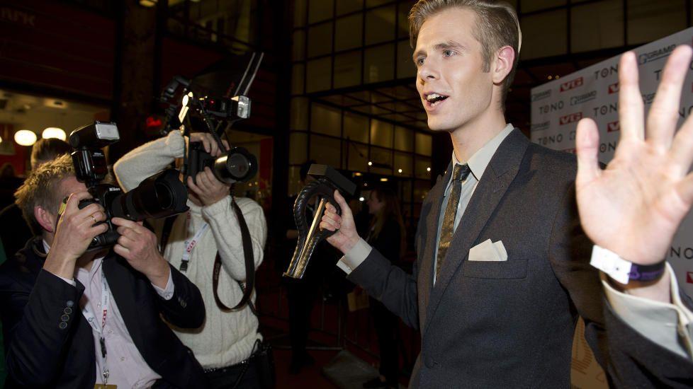 REAGERTE: Lars Vaular vant to Spellemennpriser, men savnet Stein Torleif Bjella i nominasjonen av en av dem. Foto: Øistein Norum Monsen / DAGBLADET