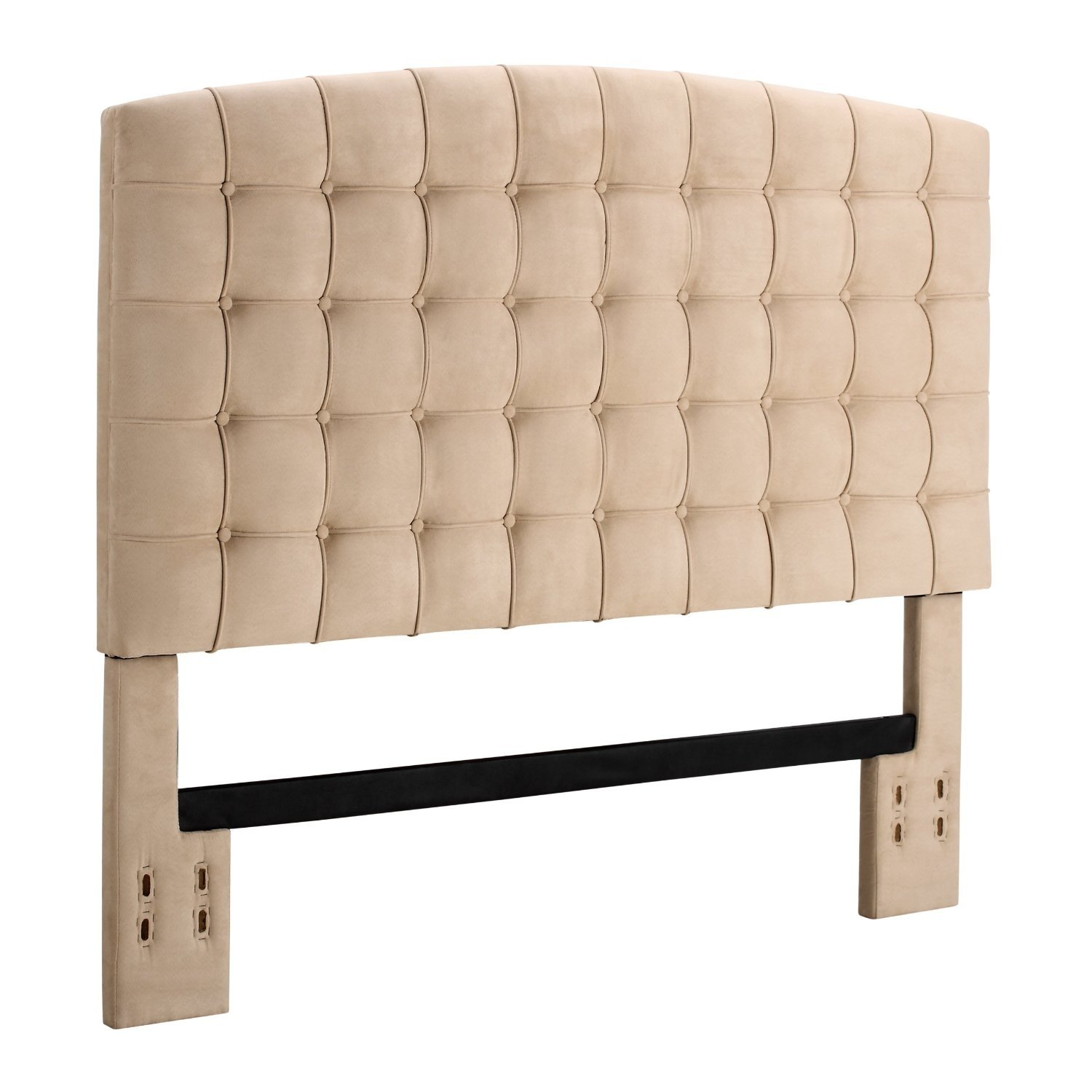 Best Full Queen Size Tufted Padded Upholstered Headboard In 400 x 300