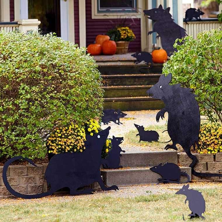 Diy Halloween  déco rapide à réaliser et efficace à l\u0027échelle du - outdoor halloween ideas