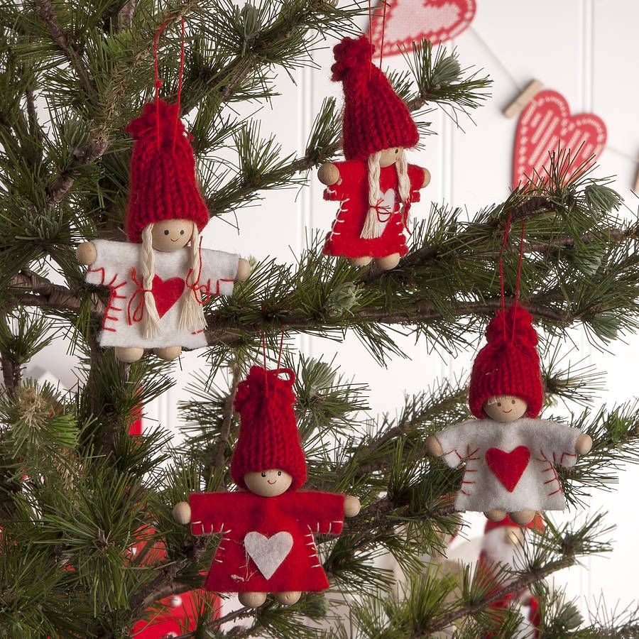 Red And White Christmas Decorations | Holly Jolly | Pinterest ...