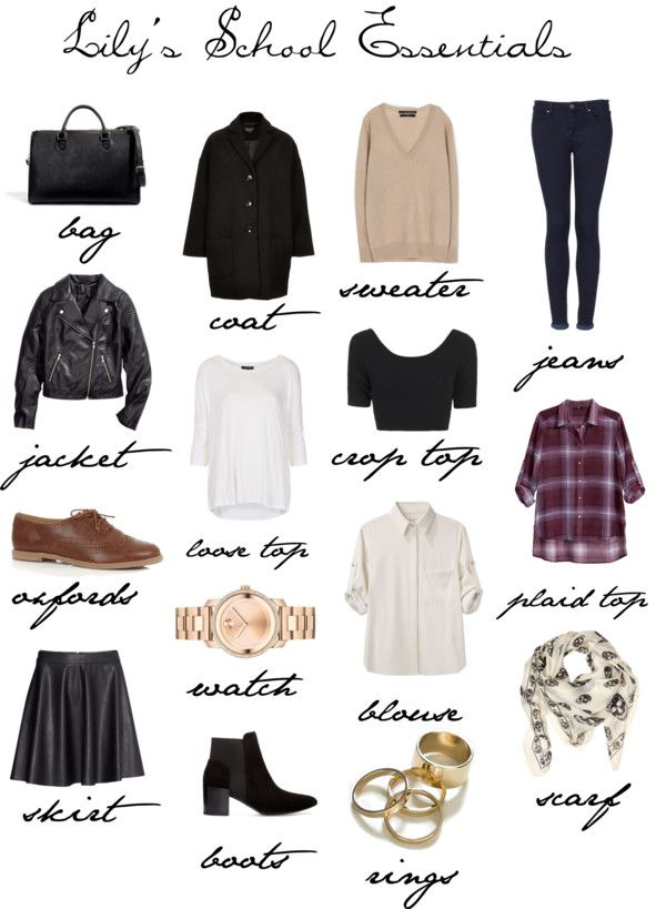 Lily S School Essentials By Lilycollinsstyle Featuring Blue Jeans