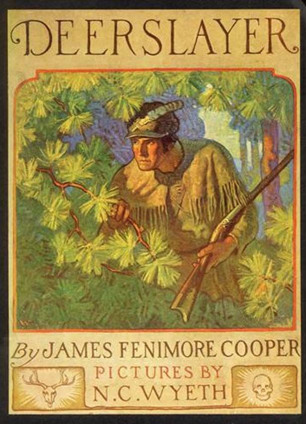 Book Cover Art Copyright : The deerslayer james fenimore cooper free download