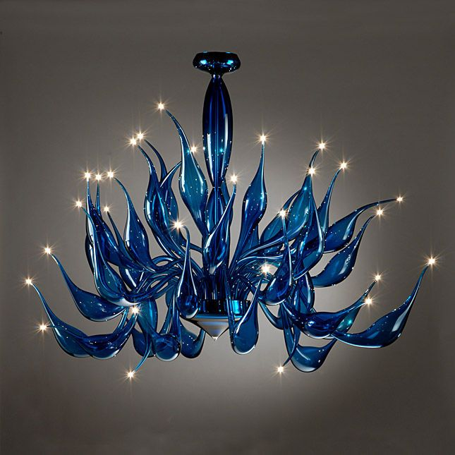 US $1155.7 9% OFF|Crystal Murano Lights Hand Blown Glass Chandelier For Kitchen Decor|Chandeliers| AliExpress