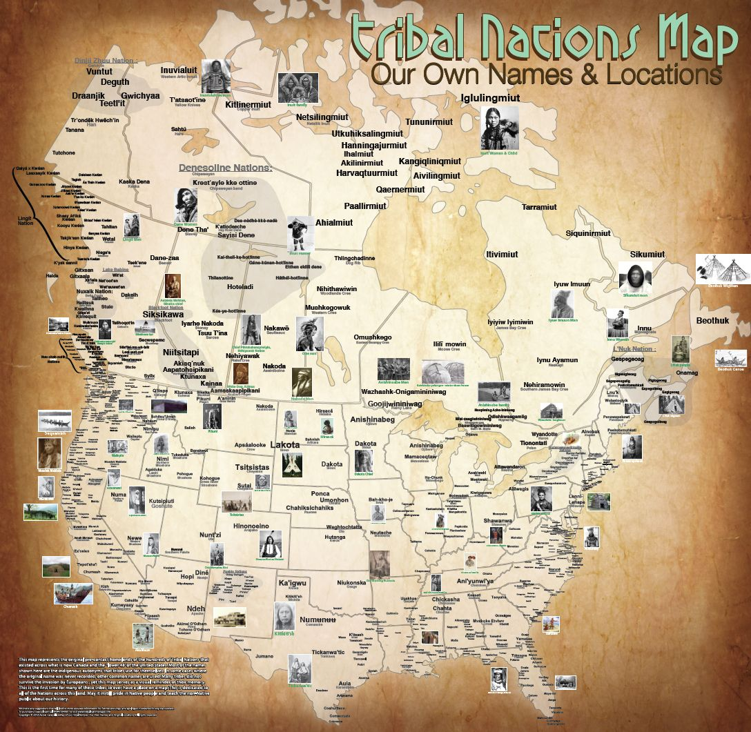 The Map Of Native American Tribes Youve Never Seen Before - Map of native american tribes in arizona