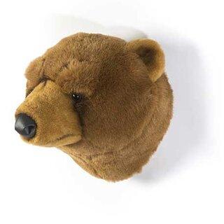 pin auf wild soft tierische wanddekorationen aus plusch deko an wand wanddekoration schlafzimmer ideen