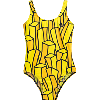 French Fry Swimsuit French Fries Jeremy Scott Adidas Swimsuits