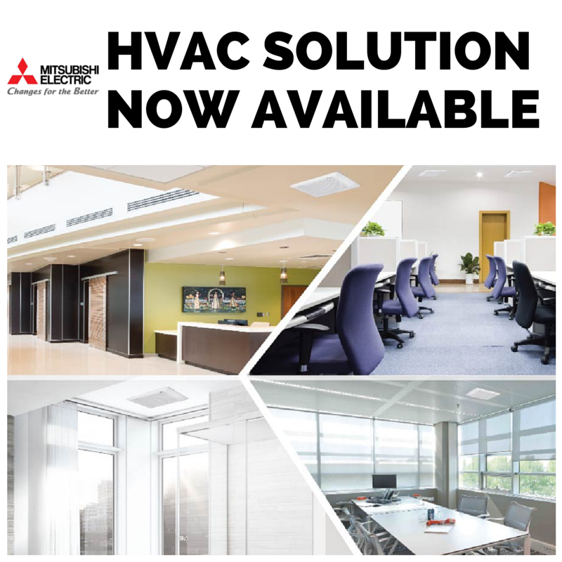 HVAC solution for commercial, industrial, retail