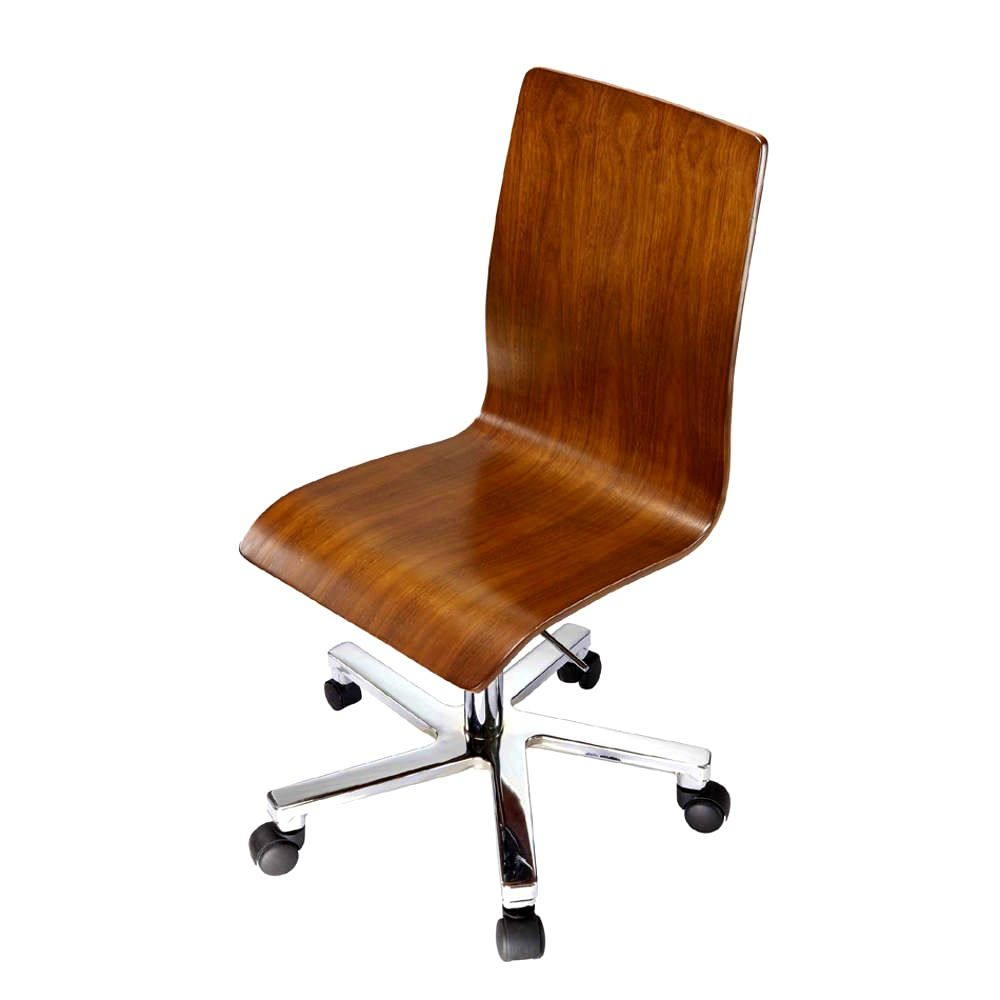 Cool Armless Ergonomic Wooden Office Chair Gmtry Best Dining Table And Chair Ideas Images Gmtryco