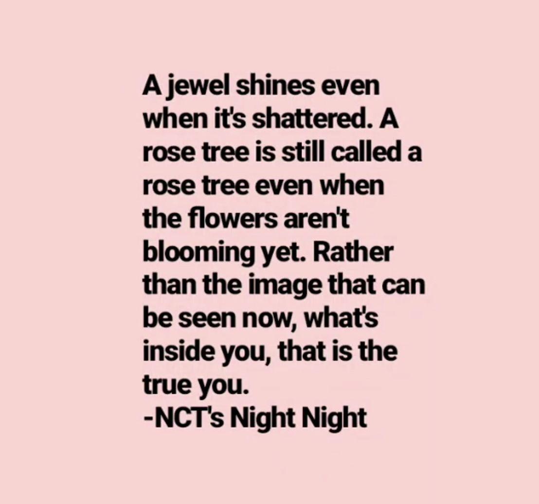 Nct Night Night Nctnightnight Quotes Inspirational Quotes Quotes Night Quotes