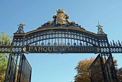Ingresso Del Parque Del Buen Retiro Parco Del Retiro A Madrid Parco Urbano Parco Ingresso