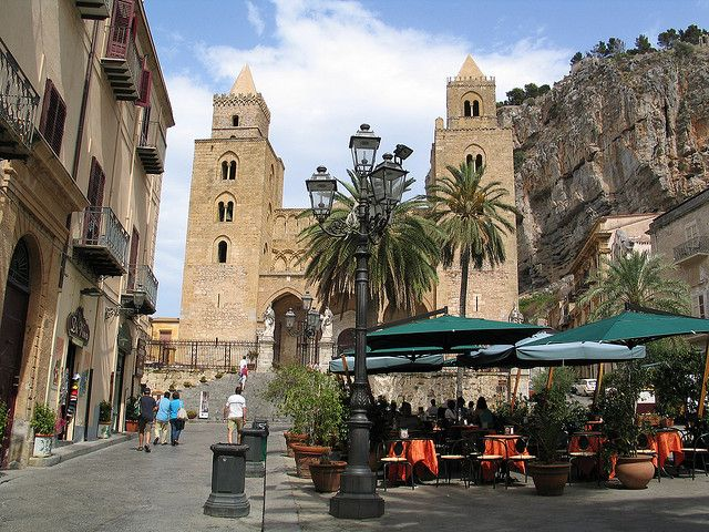 Cefalu, Sicily. Touristy, but gorgeous!