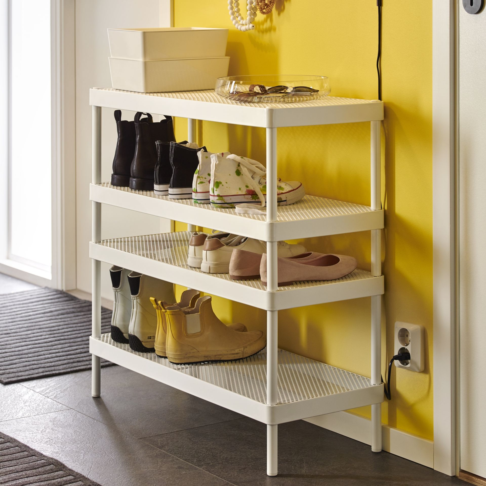 Kleding Opberger MackapÄr Schoenenrek Ikea Little Ikea House Ideas Ikea Shoe
