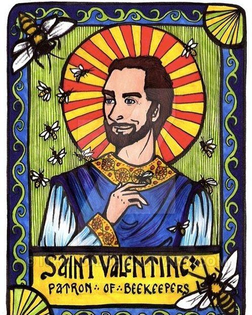 St valentine is the patron saint of