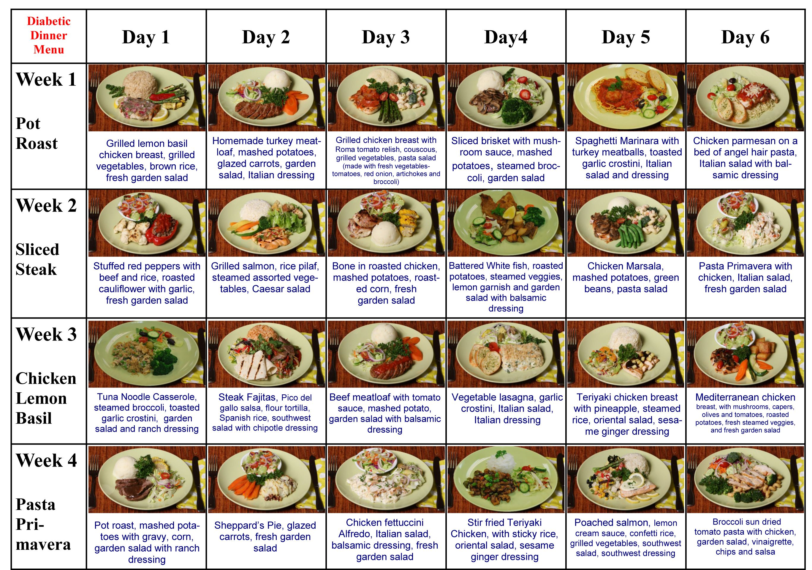 This Has Great Suggestion For The Diabetic Diet Meals