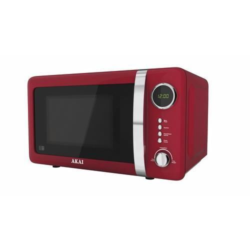 Akai Red Digital Microwave Oven 700w 20l A24005r
