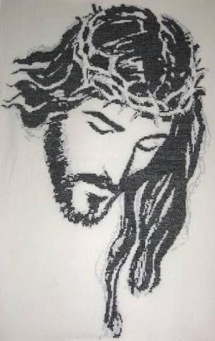 Resultado de imagen para cristo blanco y negro
