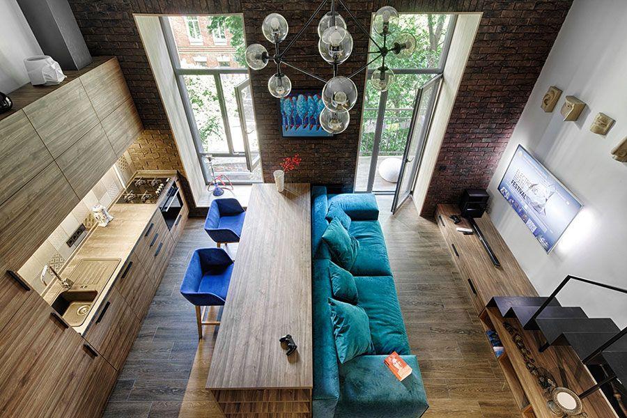 Come Arredare Un Open Space Di 20 30 Mq Loft Mezzanine Bedroom