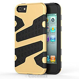 BEST iPhone SE / 5S / 5 Case, Cocomii® [HEAVY DUTY] Cool Case *NEW* [ULTRA CHAOS ARMOR] Premium Shockproof Cushion Bumper Cover - Full-body Rugged Hybrid Protective Cover Bumper Case for Apple iPhone SE / 5S / 5 • Unique, rugged design with style and the utmost protection • Raised edge around the front lip for face-down protection • Extreme protection from drops and scratches • Unique, aesthetic design that adds beauty • 5% Off Coupon Code 6BXA7NOZ This Week Only!