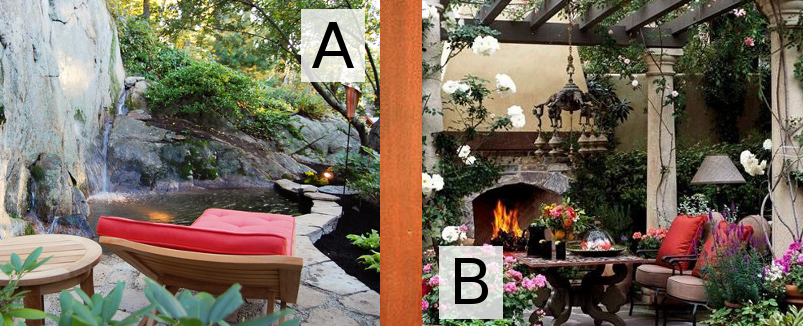 """What is your idea of the """"perfect"""" backyard? Metal"""