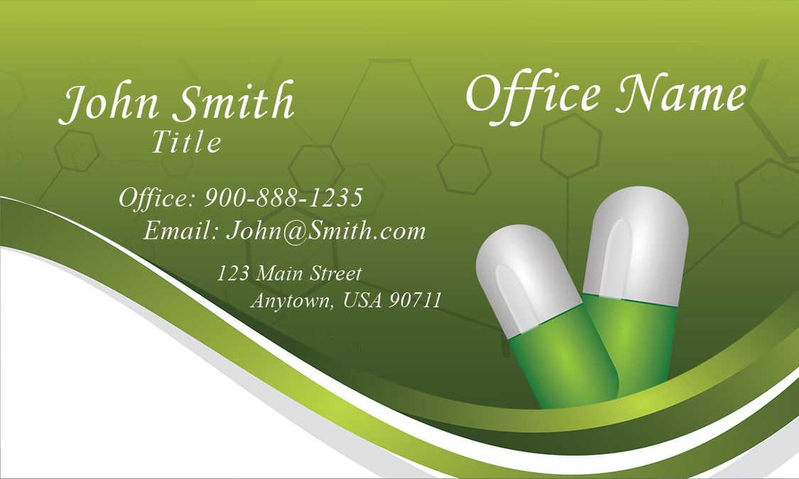 Drug And Pharmacy Business Card Design 301181 Pharmacy Card Design Business Card Design