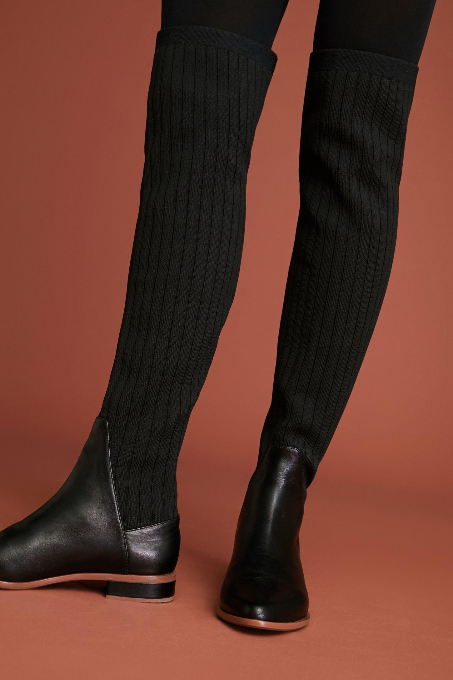 Kelsi Dagger Brooklyn Alva Over The Knee Sock Boots Over The Knee Sock Boots Over The Knee Socks Boots