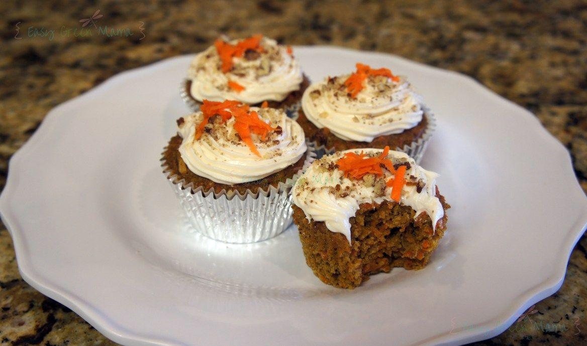 Glutenfree Carrot Cake Cupcakes Recipe Gluten free