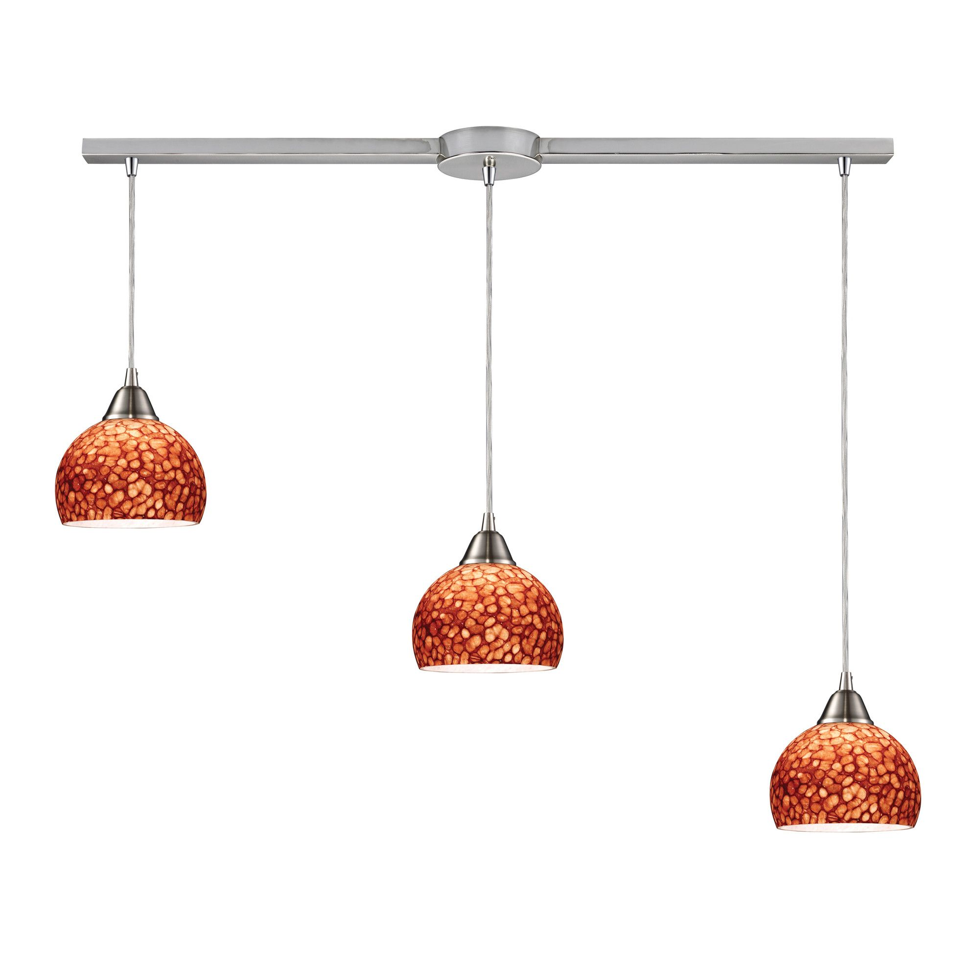 Rick 3 Light Linear Pendant