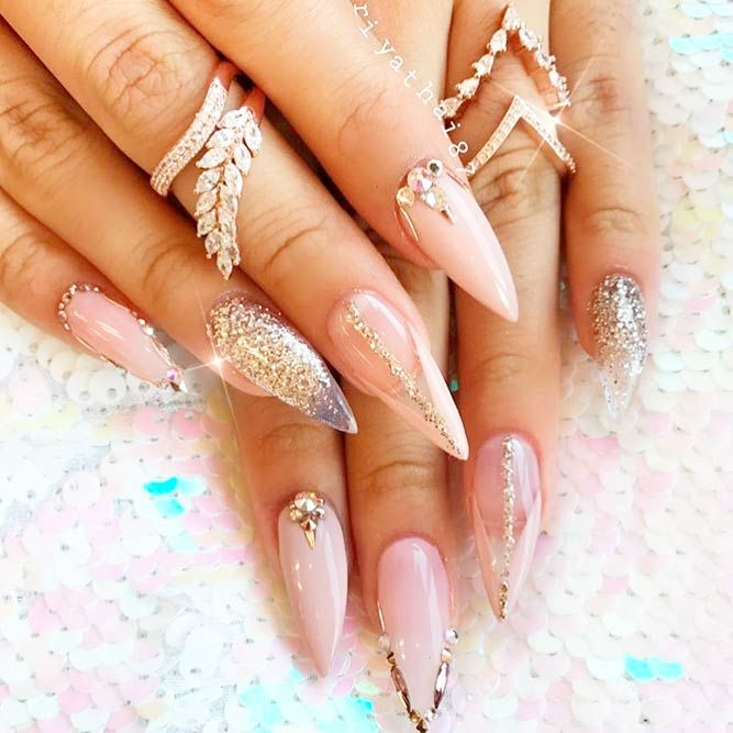 21 Fab And Stylish Nude Stiletto Nails To Be In Trends Luxurious Chic Long Stilettos Picture 3 Never Go Out