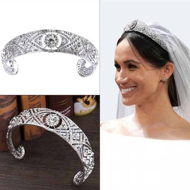Hairstyles With Crown Queen: KMVEXO 2018 Royal Rhinestone Crystal Wedding Tiara Hair