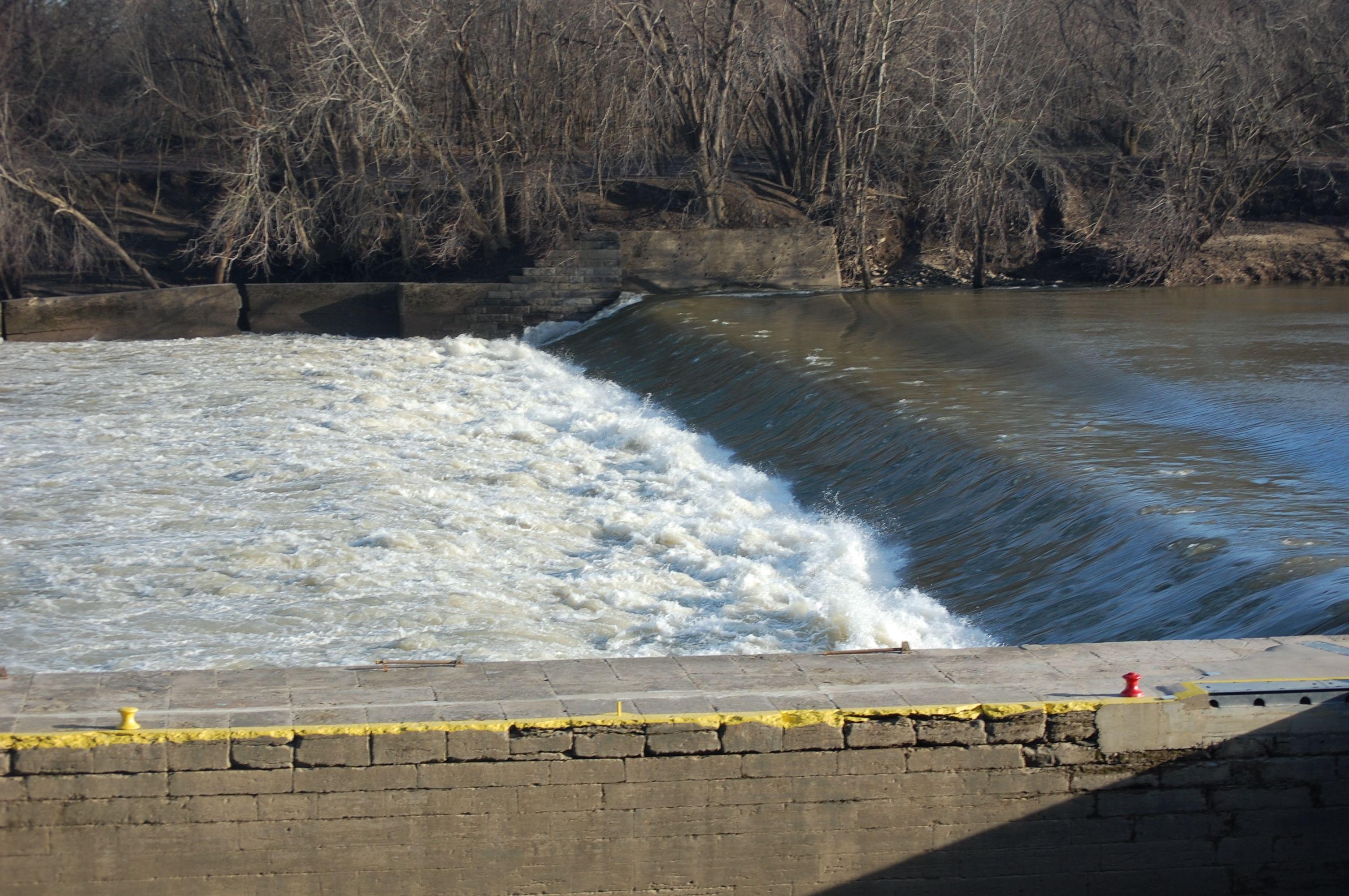 Lock 2 on the Kentucky River Lock