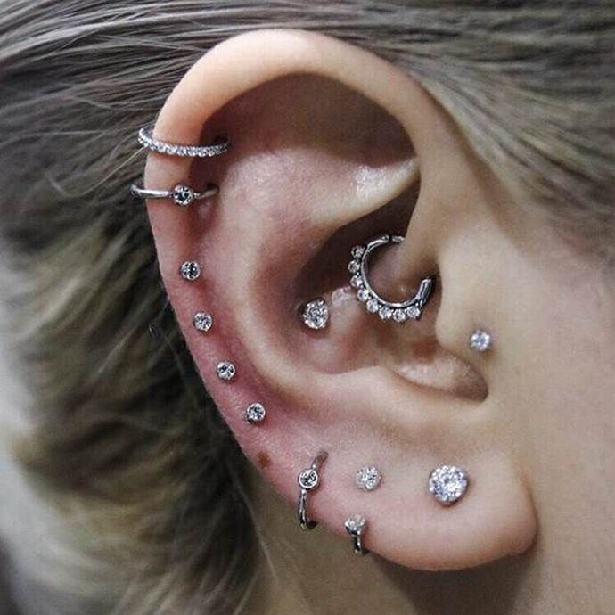 20 Daith Piercing Ideas For 2019 #earpeircings