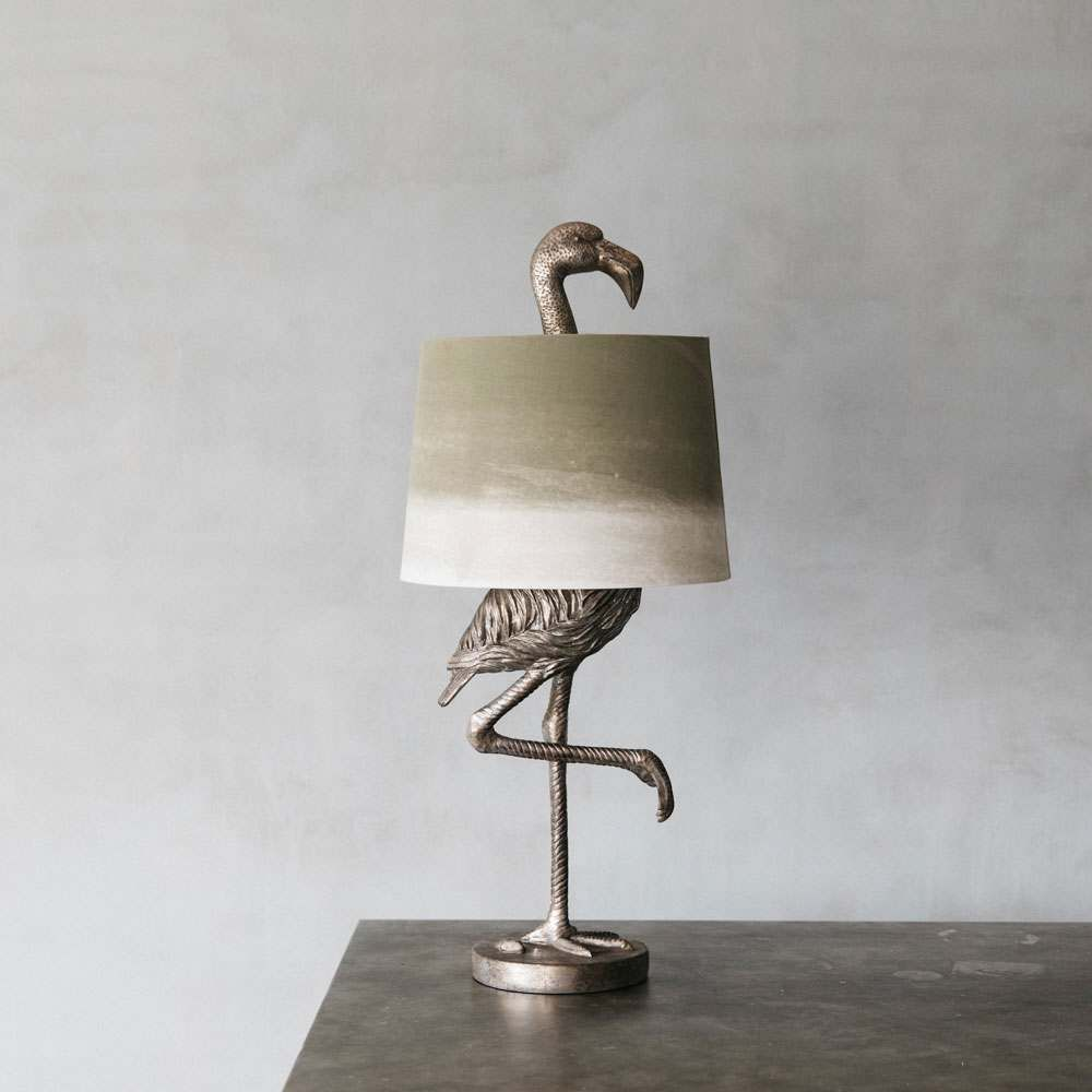Gold Flamingo Table Lamp | Graham & Green