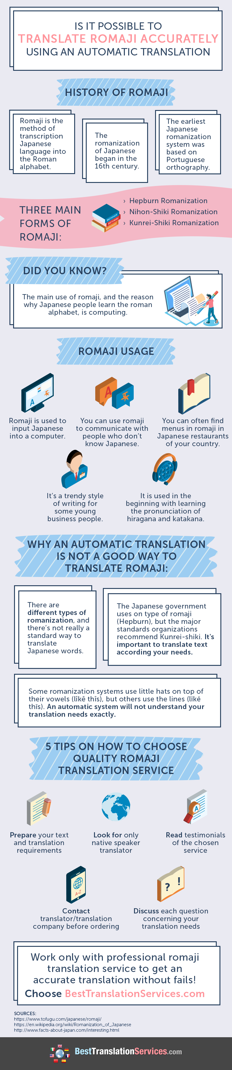 Follow this link to get help translating from Japanese to Romani ...