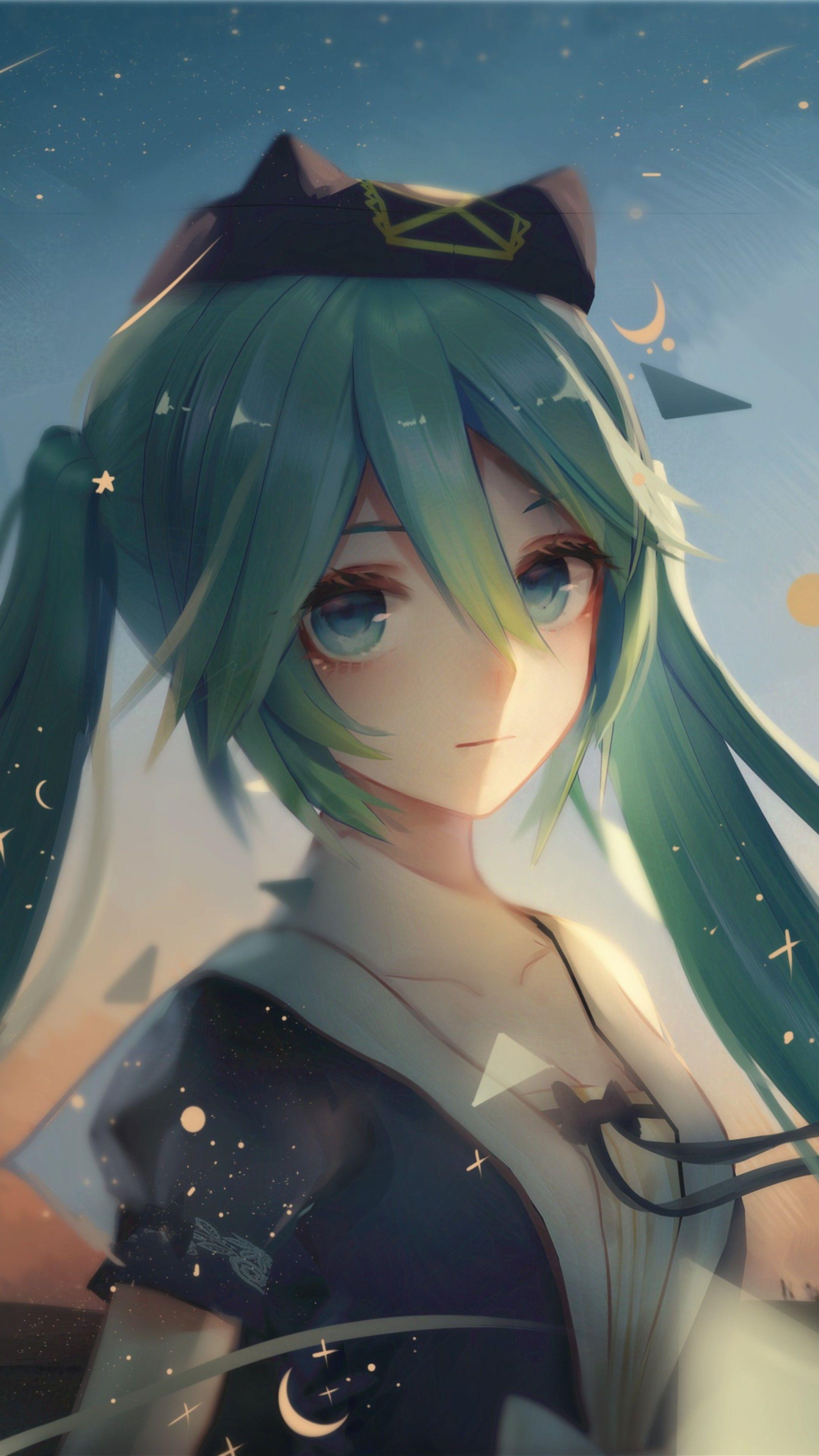 Hatsune Miku Vocaloid Anime 4k In 2160x3840 Resolution Miku Hatsune Vocaloid Hatsune Miku Hatsune