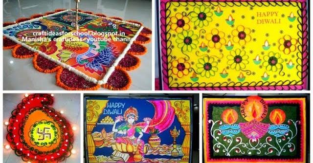 Diwali Decoration Ideas Diwali Art And Craft Ideas 4 School