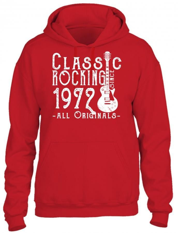 rocking since 1972 copy HOODIE