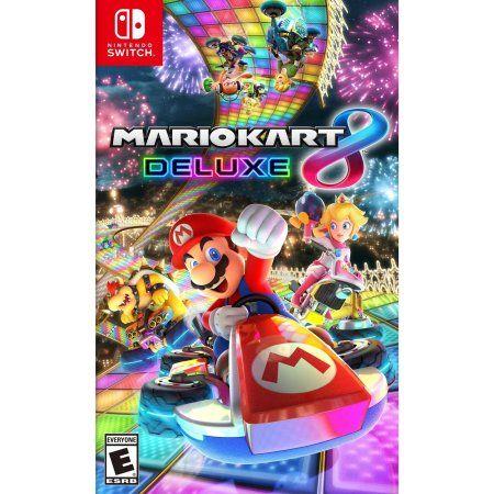 Mario Kart 8 Deluxe Nintendo Nintendo Switch 045496590475 Walmart Com Mario Kart 8 Nintendo Mario Kart Mario Kart