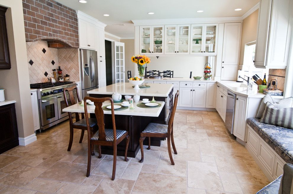 image result for white kitchen with beige tile floors beige kitchen kitchen remodel dream on kitchen remodel not white id=70945