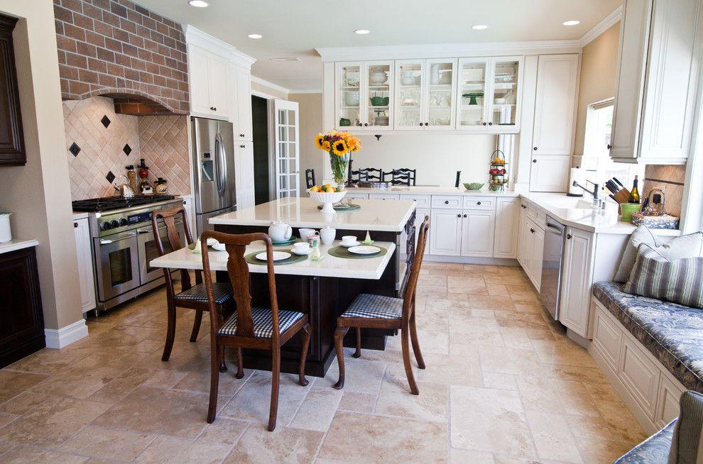 Image Result For White Kitchen With Beige Tile Floors Luxury Kitchen Design Kitchen Remodel Dream Kitchens Design