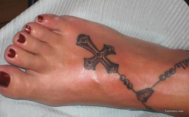 Rosary Foot Tattoo #rosaryfoottattoos Rosary Foot Tattoo #rosaryfoottattoos Rosary Foot Tattoo #rosaryfoottattoos Rosary Foot Tattoo #rosarybeadtattoo