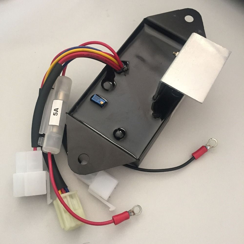 automatic voltage regulator avr for kubota generator genset parts j106 220v xwj [ 1000 x 1000 Pixel ]