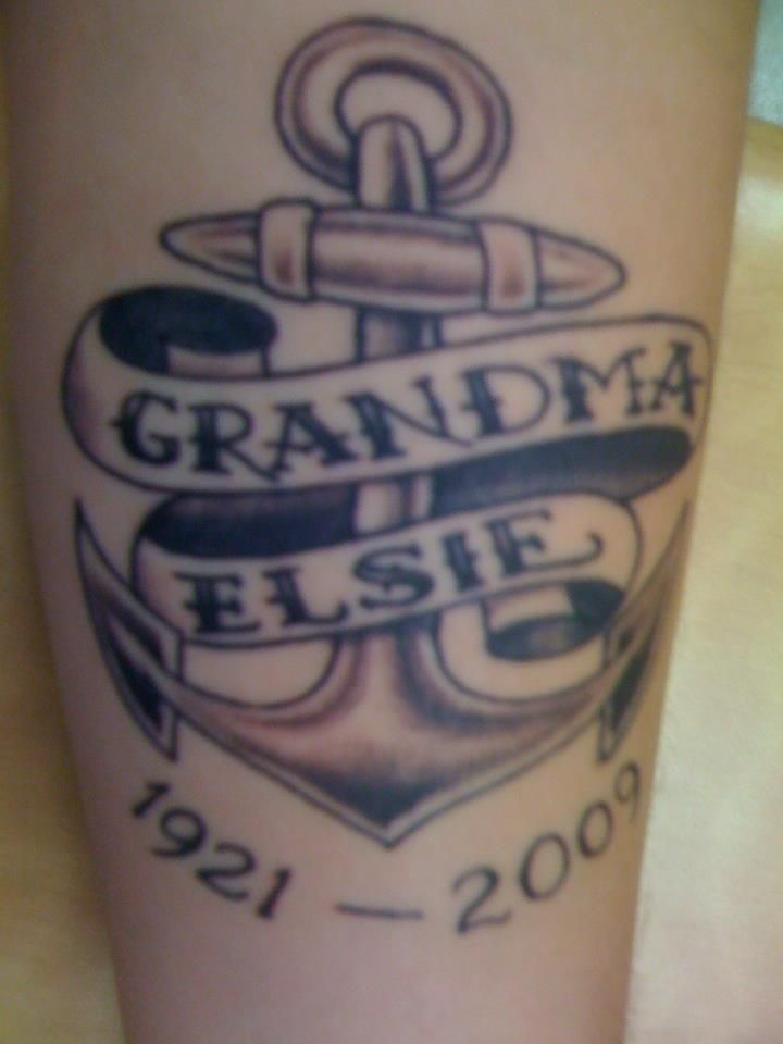 An anchordedicatedto my grandma who unexpectedly passed in 2009. 3 Miss you Grandma! This is for youu. submitted by http://zackarythor.tumblr.com/