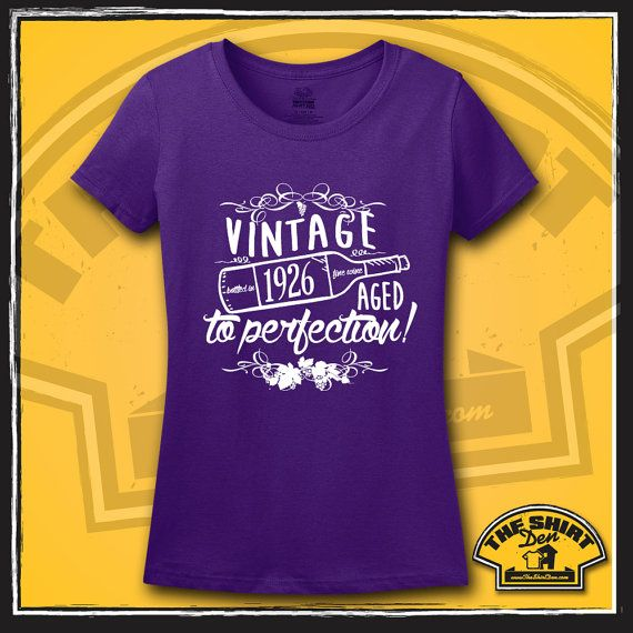 Vintage 1926 Birthday Shirt