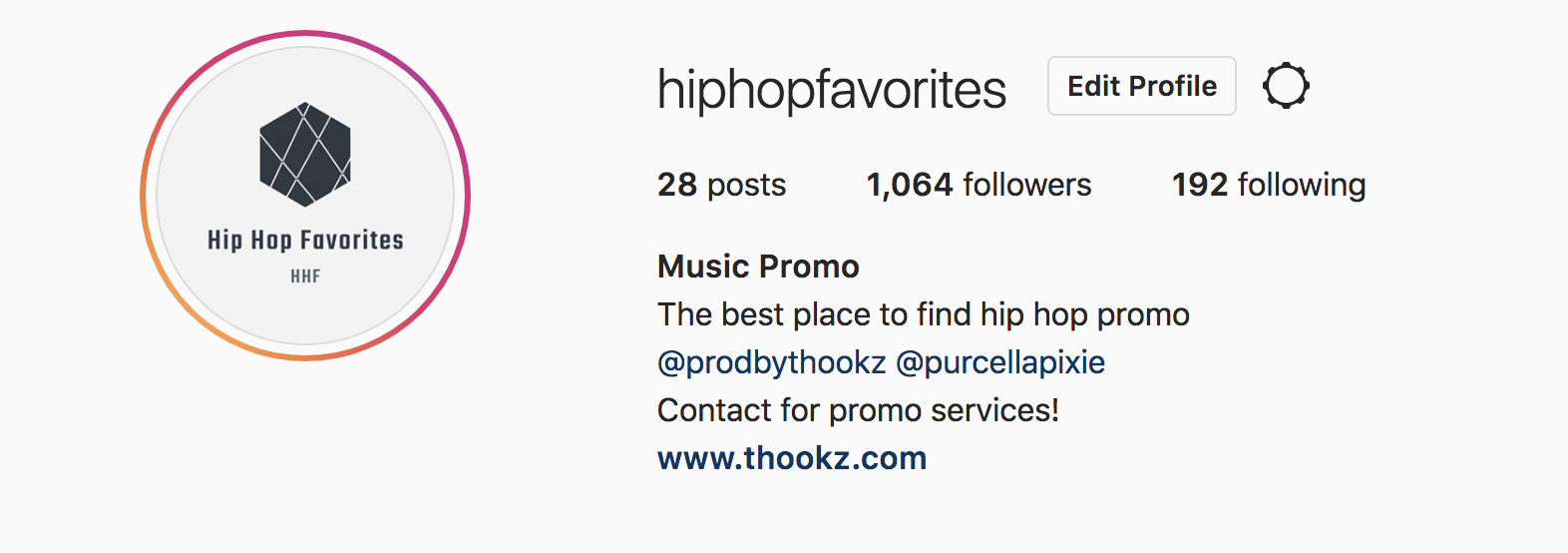 Be sure to follow Hip Hop Favorites on IG for more promo content