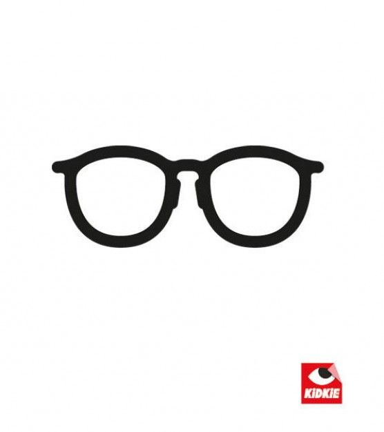 Reading specs glasses illustration