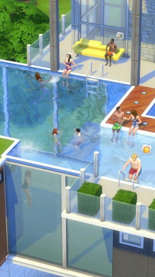 sims 4 pools | sims 4 | pinterest | sims y casas