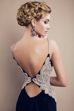 платья с красивой спиной фото