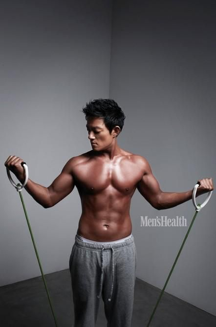 Men S Health Lee Bum Soo Men S Health Magazine Men S Health