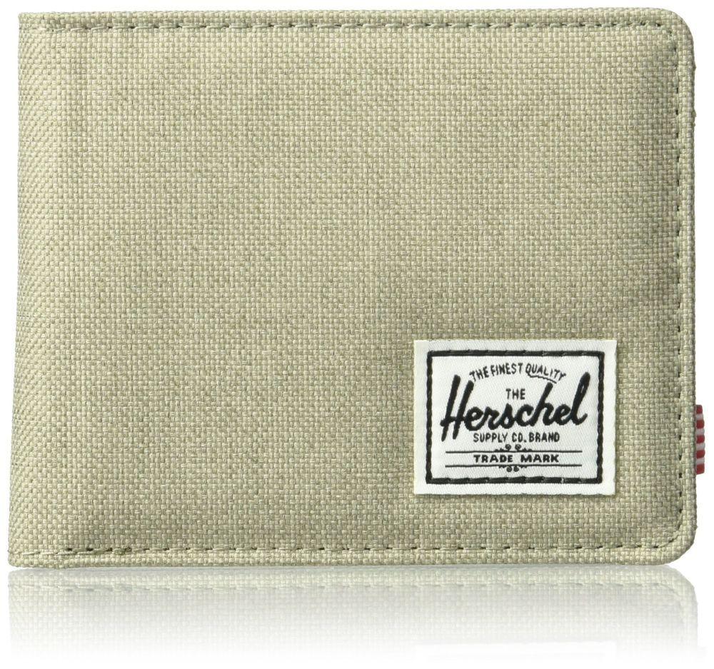 Herschel supply co mens roy rfid wallet coin pouch light